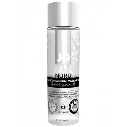 Masážní gel Nuru Full Body Sensual - System JO, 240 ml