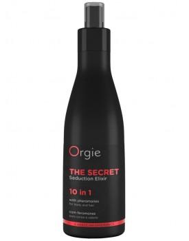 Elixír s afrodiziaky a feromony pro péči o pokožku a vlasy The Secret, 200 ml
