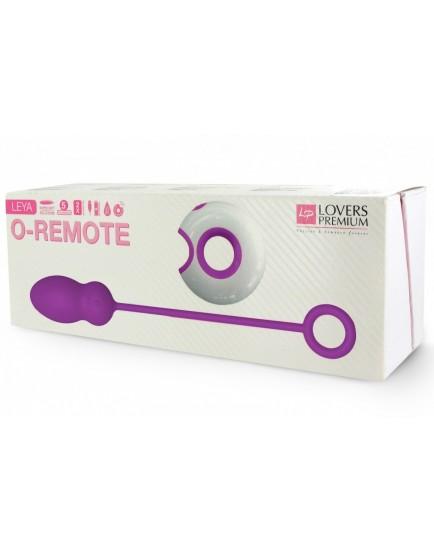 Bezdrátové vibrační vajíčko O-Remote Leya