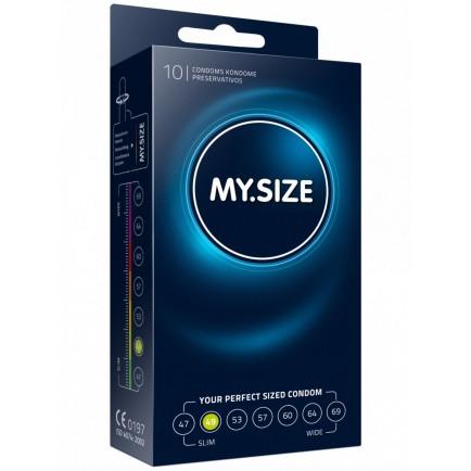 Kondomy MY.SIZE 49 mm - 10 ks