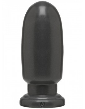 Dildo American Bombshell SHELL SHOCK LARGE Gun Metal - Doc Johnson