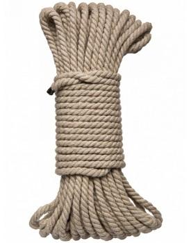 Konopné lano na bondage Hogtied Bind & Tie - 15 m