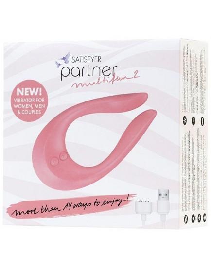 Párový vibrátor (stimulátor) Satisfyer Partner Multifun 2
