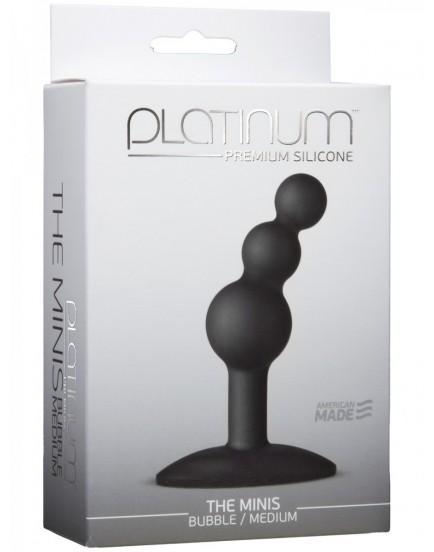 Střední anální kuličky Platinum THE MINIS BUBBLE medium