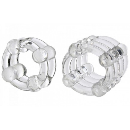 Sada erekčních kroužků COLT Enhancer Rings - 2 ks