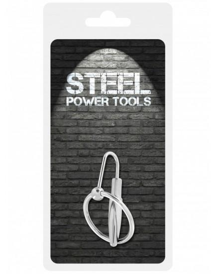 Dilatátor - kolík do penisu 8 mm - Steel Power Tools