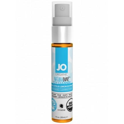 BIO čisticí sprej na erotické pomůcky System JO Organic NaturaLove - 30 ml
