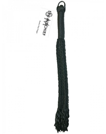 Důtky Sportsheets Shadow Rope Flogger - 49 cm