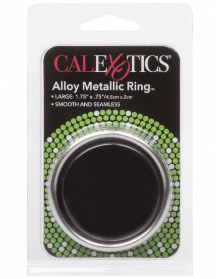 Kovový erekční kroužek, široký - CalExotics