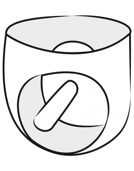 Latexové slipy s análním dildem - LateX