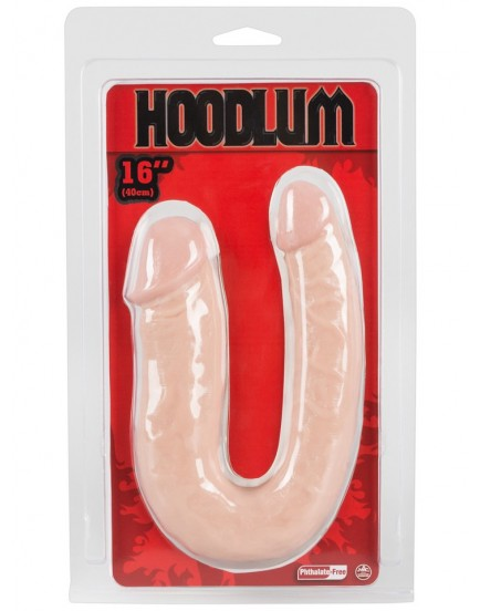 Dvojité realistické dildo Hoodlum - NMC