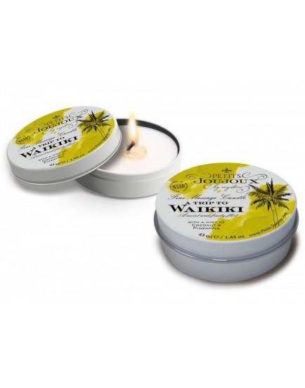 Masážní svíčka A Trip To Waikiki Petits Joujoux - 43 ml