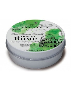 Masážní svíčka A Trip To Rome Petits Joujoux - 43 ml