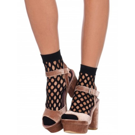 Ponožky s velkými oky - Leg Avenue