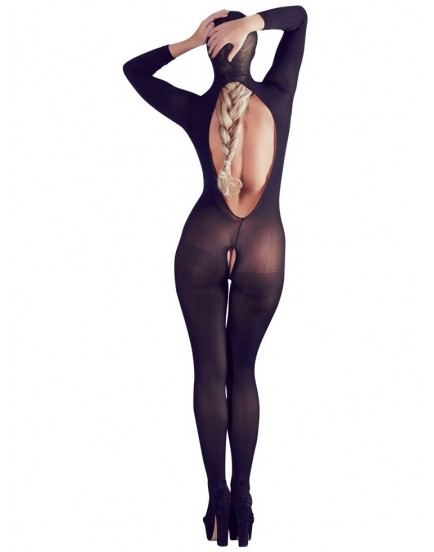 Catsuit s maskou, s odhalenými prsy a otevřeným rozkrokem - Mandy Mystery