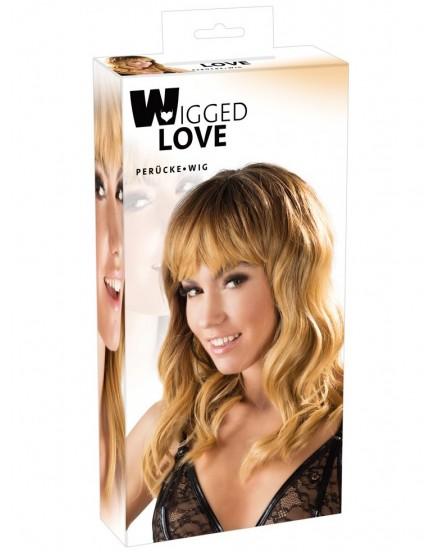 Dlouhá vlnitá blond paruka - Wigged Love