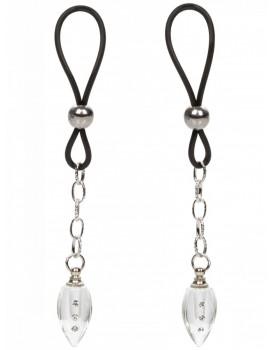 Šperk na bradavky Teardrop - 2 ks