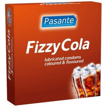 Kondomy Fizzy Cola, 3 ks - Pasante