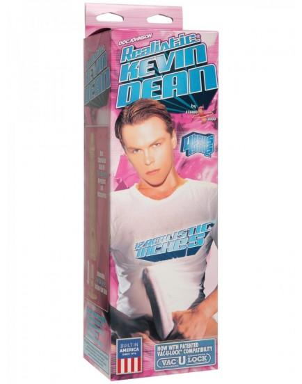 "Realistické dildo Kevin Dean Doc Johnson Vac-U-Lock, 12"""