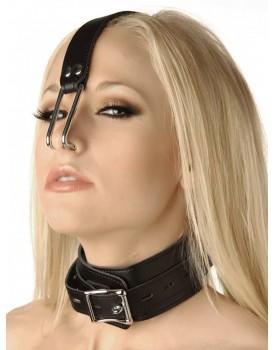 Obojek s kovovými háky do nosu