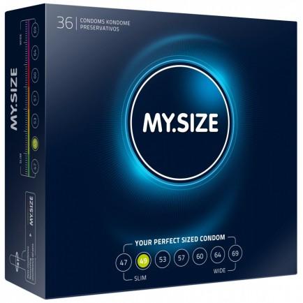 Kondomy MY.SIZE 49 mm - 36 ks