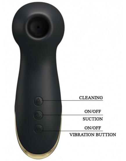 Sací a vibrační stimulátor klitorisu Royal Pleasure Hammer - Pretty Love