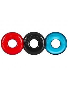 Sada erekčních kroužků Oxballs Ringer - 3 ks