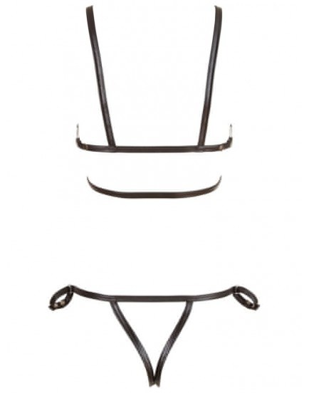 Řemínkové bikiny s pouty - BONDAGE Cottelli Collection