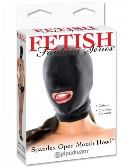 Maska s otvorem pro ústa - Fetish Fantasy