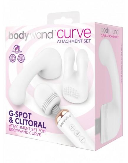 Sada stimulačních nástavců na masážní hlavici Bodywand Curve