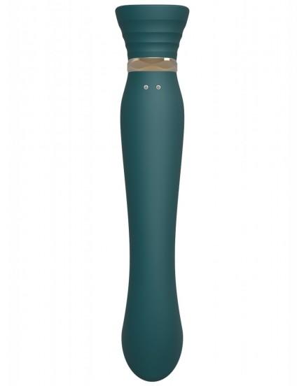 Pulzační vibrátor na bod G/stimulátor klitorisu Queen - ZALO