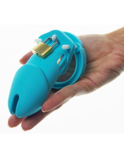 Pás cudnosti (klícka na penis) ze silikonu