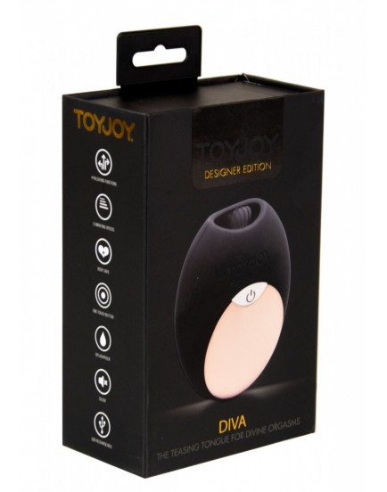 Stimulátor klitorisu s jazýčkem DIVA - ToyJoy