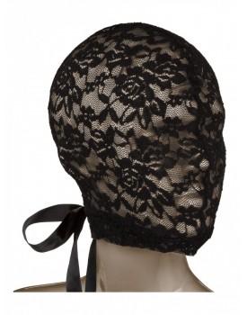 Krajková maska na hlavu s korzetovým šněrováním (Scandal)
