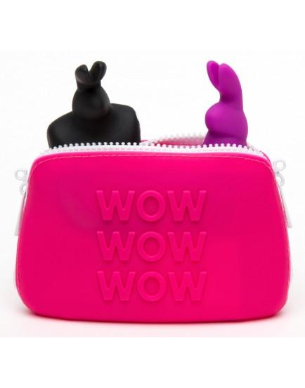 Silikonová taštička na erotické pomůcky Happy Rabbit S - malá