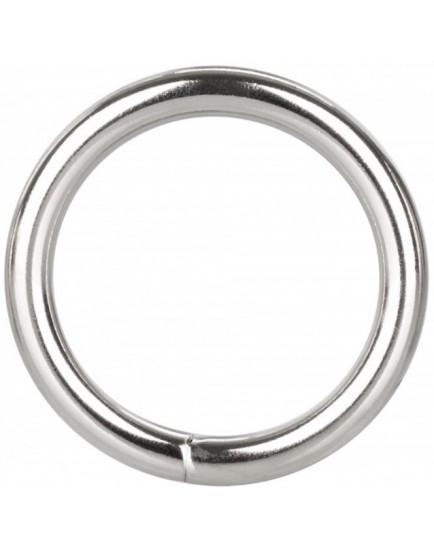 Erekční kroužek z kovu Silver Ring