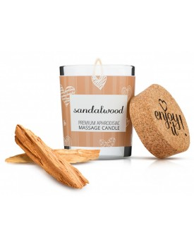 Afrodiziakální masážní svíčka MAGNETIFICO - Enjoy it! (sandalwood)