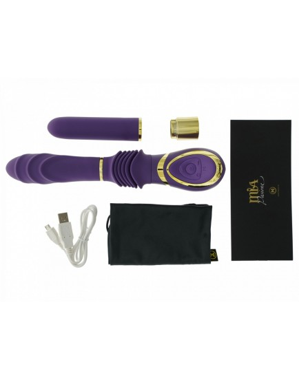 Přirážecí vibrátor MiaMaxx MiaPasione Thruster Purple - fialový