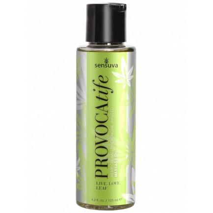 Masážní olej s konopím a feromony PROVOCAtife - Sensuva