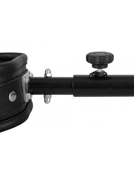 Nastavitelná roztahovací tyč ZADO s koženými pouty 35-60 cm