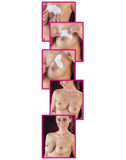 Push-up nálepky na prsa Lift Tape - 5 párů