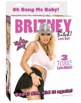 Nafukovací panna Britney Bitch - Pipedream