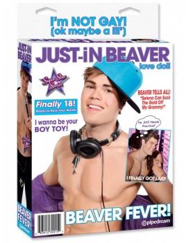 Nafukovací muž Just-In Beaver - Pipedream