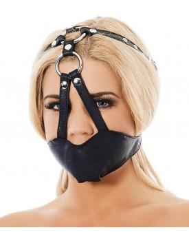 Kožená maska na ústa (náhubek) - Rimba