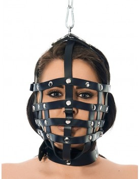 Řemínková maska se závěsným kroužkem - Rimba