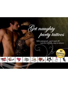 Erotické tetování - Get Naughty Party