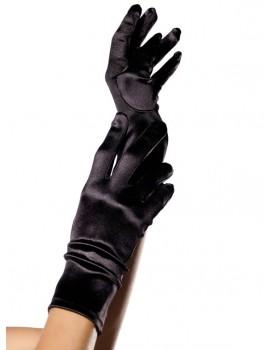 Krátké rukavice ze saténu - Leg Avenue