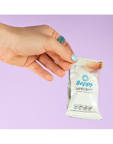 Menstruační tampony Beppy WET - vlhčené (8 ks)