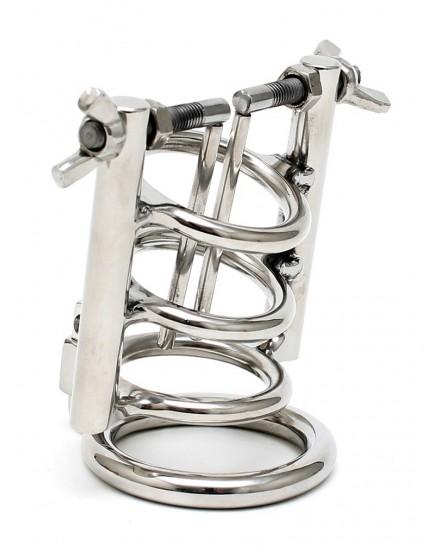 Roztahovač močové trubice s kroužkem na varlata a zámkem - Rimba