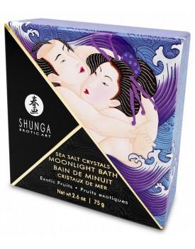 Koupelnová sůl Shunga Exotic Fruits - exotické ovoce, 75 g